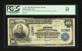 National Bank Notes:West Virginia, South Charleston, WV - $10 1902 Plain Back Fr. 632 The First NB ofSouth Charleston Ch. # 11340. ...