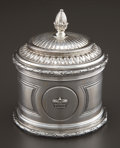 Silver Holloware, French:Holloware, AN ODIOT FRENCH SILVER COVERED BOX . Jean-Baptiste-Claude Odiot,Paris, France, circa 1850. Marks: ODIOT, O (over lamp i...(Total: 2 Items)