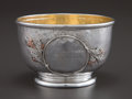 Silver Holloware, American:Bowls, A WHITING SILVER, SILVER GILT AND MIXED METAL BOWL . WhitingManufacturing Company, New York, New York, circa 1882. Marks: (...