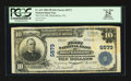 National Bank Notes:Pennsylvania, Shickshinny, PA - $10 1902 Plain Back Fr. 633 The First NB Ch. #5573. ...