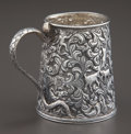 Silver Holloware, Continental:Holloware, AN INDIAN SILVER MUG . Maker unknown, probably Kutch, India, circa1880. Unmarked. 3-1/2 inches high (8.9 cm). 7.75 troy oun...