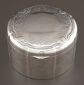 Silver Holloware, Continental:Holloware, A SWEDISH SILVER AND SILVER GILT BISCUIT BOX . Maker unknown,Sweden, circa 1880. Marks: (crown), (wolf's head),800/1000...