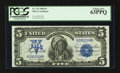 Large Size:Silver Certificates, Fr. 275 $5 1899 Silver Certificate PCGS Choice New 63PPQ.. ...
