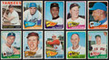 Baseball Cards:Lots, 1960's Topps Baseball HoFers Collection (19) With Mantle. ...