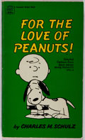 Books:Children's Books, Charles M. Schulz. INSCRIBED BY SCHULZ FOR JACK CORDES. For theLove of Peanuts! New York: Fawcett Crest, [1967]. Tw...
