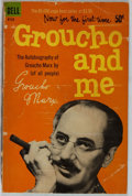Books:Biography & Memoir, Groucho Marx. INSCRIBED BY GROUCHO MARX TO JACK CORDES. Grouchoand Me. New York: Dell, [1960]. First Dell printing....