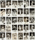 "Baseball Collectibles:Photos, Circa 1940 ""American League Service Bureau"" Photographs Lot of 30with Hall of Famers...."
