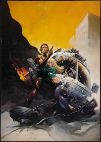 """The Gauntlet (Warner Brothers, 1977). Litho Poster (20"""" X 28.5""""). Action"""