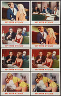 "Movie Posters:Action, The Spy with My Face (MGM, 1965). Lobby Cards (8) (11"" X 14"").Action.. ... (Total: 8 Items)"