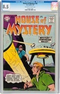 Silver Age (1956-1969):Mystery, House of Mystery #82 (DC, 1959) CGC VF+ 8.5 Off-white to whitepages....