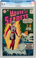 Silver Age (1956-1969):Horror, House of Secrets #21 (DC, 1959) CGC VF+ 8.5 Off-white to whitepages....