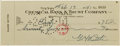 Autographs:Checks, 1941 Babe Ruth Signed Check to Brother-In-Law....