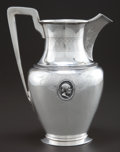 Silver Holloware, American:Water Pitchers, A BALL, BLACK & CO SILVER MEDALLION PATTERN WATERPITCHER . Ball, Black & Company, New York, New York, circa18...