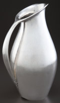 Silver Holloware, Continental:Holloware, A GEORG JENSEN SILVER PITCHER DESIGNED BY JOHAN ROHDE . Designed byJohan Rohde, Copenhagen, Denmark, circa 1929. Manufactur...