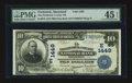 National Bank Notes:Maryland, Frederick, MD - $10 1902 Date Back Fr. 616 The Frederick County NBCh. # (E)1449. ...