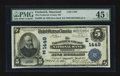 National Bank Notes:Maryland, Frederick, MD - $5 1902 Date Back Fr. 590 The Frederick County NBCh. # (E)1449. ...