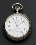 Timepieces:Pocket (post 1900), D. Gruen & Sons Rare Precision RR Watch. ...