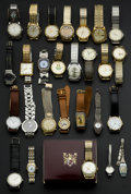 Timepieces:Wristwatch, A Lot Of Sixty Miscellaneous Wristwatches. ... (Total: 60 Items)