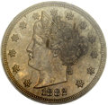 Patterns, 1882 5C Liberty Head Five Cents, Judd-1691, Pollock-1893, High R.6, PR64 Brown PCGS....