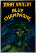 Books:Science Fiction & Fantasy, [Jerry Weist]. SIGNED LIMITED EDITION. John Varley. Blue Champagne. Niles: Dark Harvest, 1986. First edition, ...