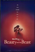"Movie Posters:Animation, Beauty and the Beast (Buena Vista, 1991). Autographed One Sheet (27"" X 40""). Animation.. ..."