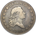 Early Half Dollars, 1795 50C 2 Leaves Fine 12 PCGS. CAC. O-102, R.4....