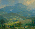 Fine Art - Painting, American:Modern  (1900 1949)  , WALLACE WEIR FAHNESTOCK (American, 1877-1950). Mount Netop,1921. Oil on canvas. 29-3/4 x 36 inches (75.6 x 91.4 cm). Si...