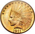 Indian Eagles, 1911-D $10 MS63 PCGS....
