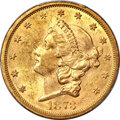 Liberty Double Eagles, 1873-S $20 Closed 3 MS61 PCGS....