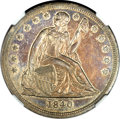 Seated Dollars, 1840 $1 AU58 NGC....