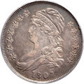 Bust Half Dollars, 1807 50C Capped Bust, Small Stars XF45 PCGS. O-113, R.2....