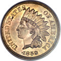 Patterns, 1859 P1C Indian Cent, Judd-227, Pollock-271, Low R.6, MS64 PCGS....
