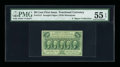 Fractional Currency:First Issue, Fr. 1312 Milton 1R50.4c 50¢ First Issue Inverted Back PMG AboutUncirculated 55 EPQ....