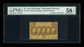 Fractional Currency:First Issue, Fr. 1279(a?) 25¢ First Issue Perforated 16 PMG Choice About Unc 58EPQ....