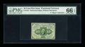 Fractional Currency:First Issue, Fr. 1241 10¢ First Issue PMG Gem Uncirculated 66 EPQ....