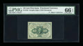Fractional Currency:First Issue, Fr. 1242 10¢ First Issue PMG Gem Uncirculated 66 EPQ....