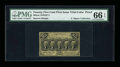 Fractional Currency:First Issue, Milton 1DP25F.2 25¢ First Issue Trial-Color Die Proof PMG GemUncirculated 66 EPQ....