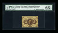 Fractional Currency:First Issue, Fr. 1229 5¢ First Issue PMG Gem Uncirculated 66 EPQ....