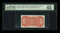 Fractional Currency:Third Issue, Fr. 1273sp 15c Third Issue Narrow Margin Back PMG Gem Uncirculated 65 EPQ. Milton 3S15R.1.. ...