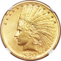 Indian Eagles, 1930-S $10 AU58 NGC....