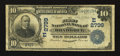 National Bank Notes:Pennsylvania, Braddock, PA - $10 1902 Date Back Fr. 616 The First NB Ch. # (E)2799. ...