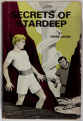 Books:Science Fiction & Fantasy, [Jerry Weist]. INSCRIBED. John Jakes. Secrets of Stardeep. Philadelphia: Westminster, [1969]. First edition....