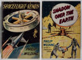 Books:Science Fiction & Fantasy, [Jerry Weist]. Philip Wilding. Two First Editions, including: Spaceflight-Venus; Shadow Over the Earth. New York: Philos... (Total: 2 Items)