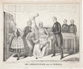 Political:Posters & Broadsides (pre-1896), Henry Clay: Interesting 1844 Cartoon....