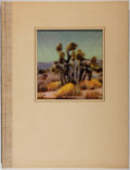 Books:Photography, Homer H. Boelter. SIGNED. The Desert thematic portrait. Hollywood: Homer H. Boelter, 1945. First edition. Signed b...