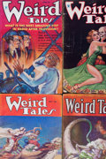 Pulps:Horror, Weird Tales Group (Popular Fiction, 1933-35) Condition: Average GD/VG.... (Total: 5 Items)
