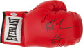 """Football Collectibles:Others, Mike Tyson """"HOF 2011"""" Signed Glove...."""