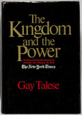 Books:Americana & American History, Gay Talese. The Kingdom and the Power. New York: WorldPublishing, [1969]. Book club edition, second printing. S...
