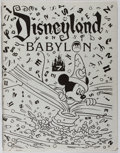 Books:Americana & American History, [Walt Disney Studios, association]. Anonymous. DisneylandBabylon. Issue 7. Notorious fanzine produced by an unk...