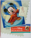 Books:Children's Books, [Walt Disney Studios]. SIGNED. The Art of Disney Stamps. [Washington]: United States Postal Service, [2008]. Fir...